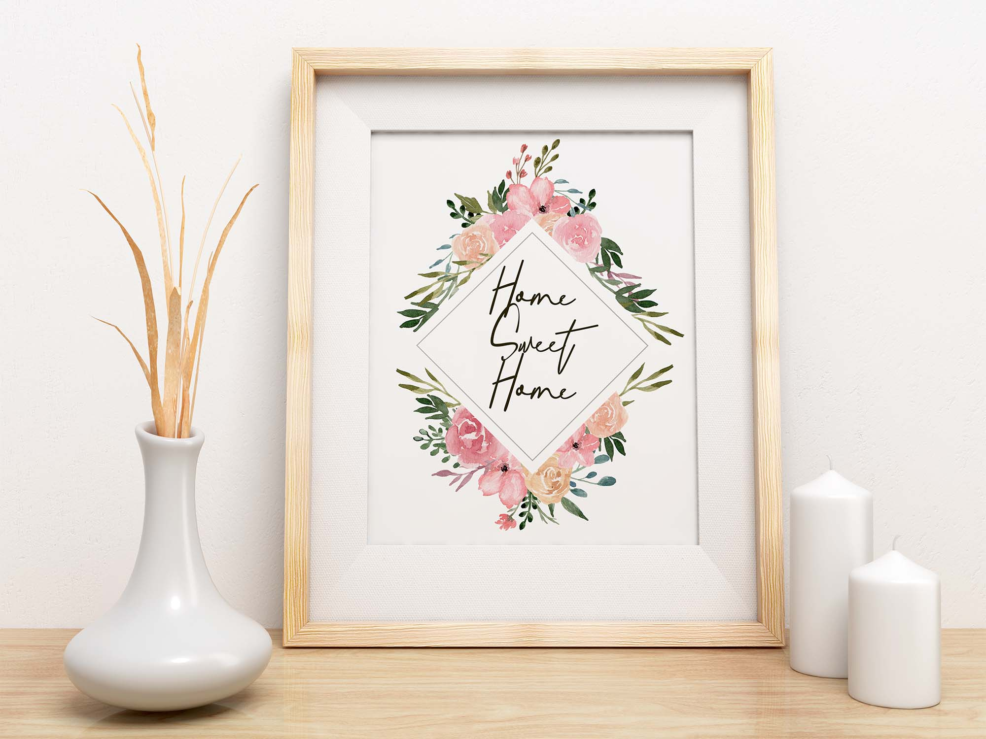 Dusty Blooms Watercolor Graphic Illustrations 7