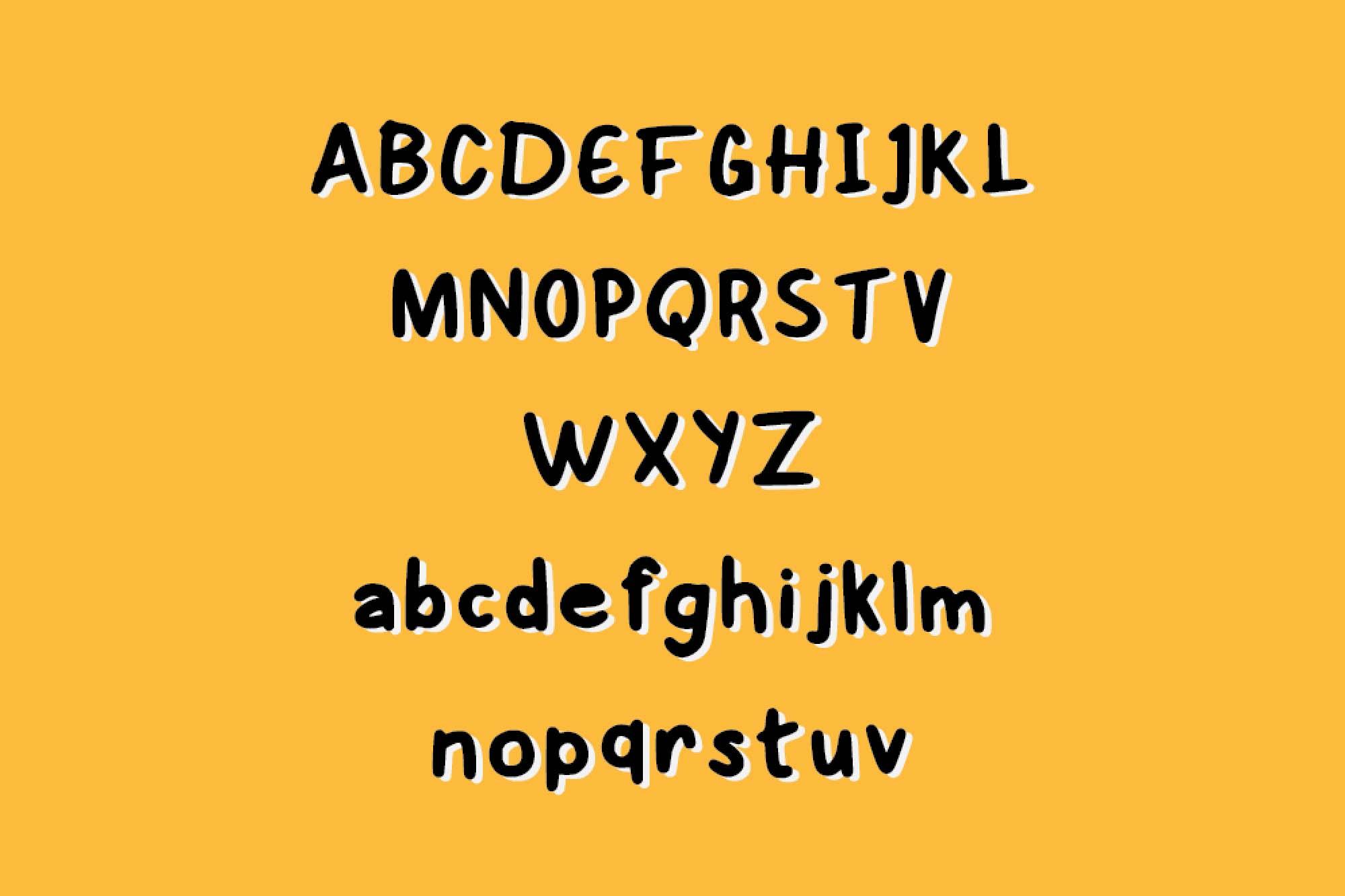 Eddy Handwritten Font 2