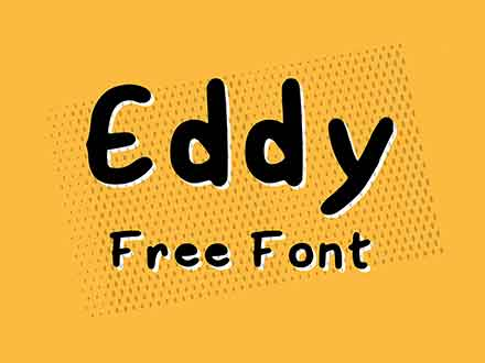 Eddy Handwritten Font
