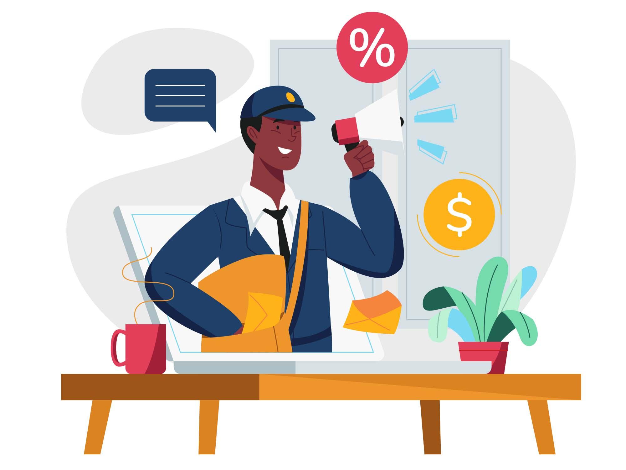 Email Marketing Illustration 02