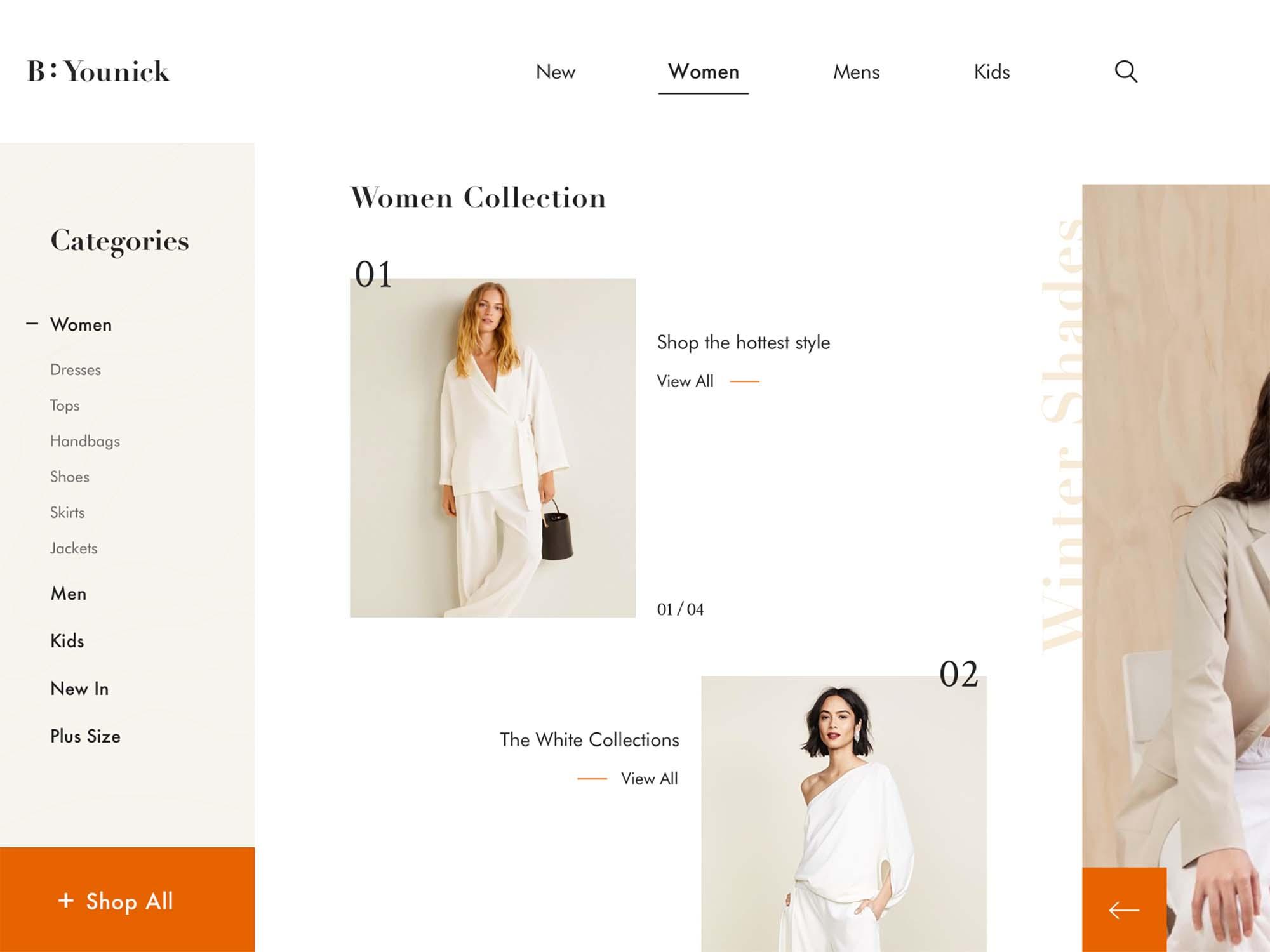 Fashion Web Design Template