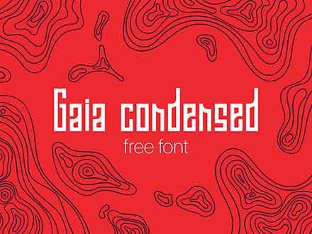 Gaia Condensed Font