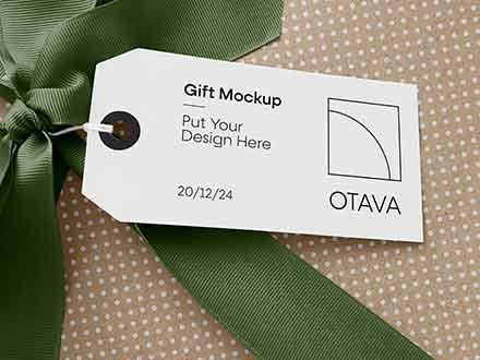 Gift Mockup