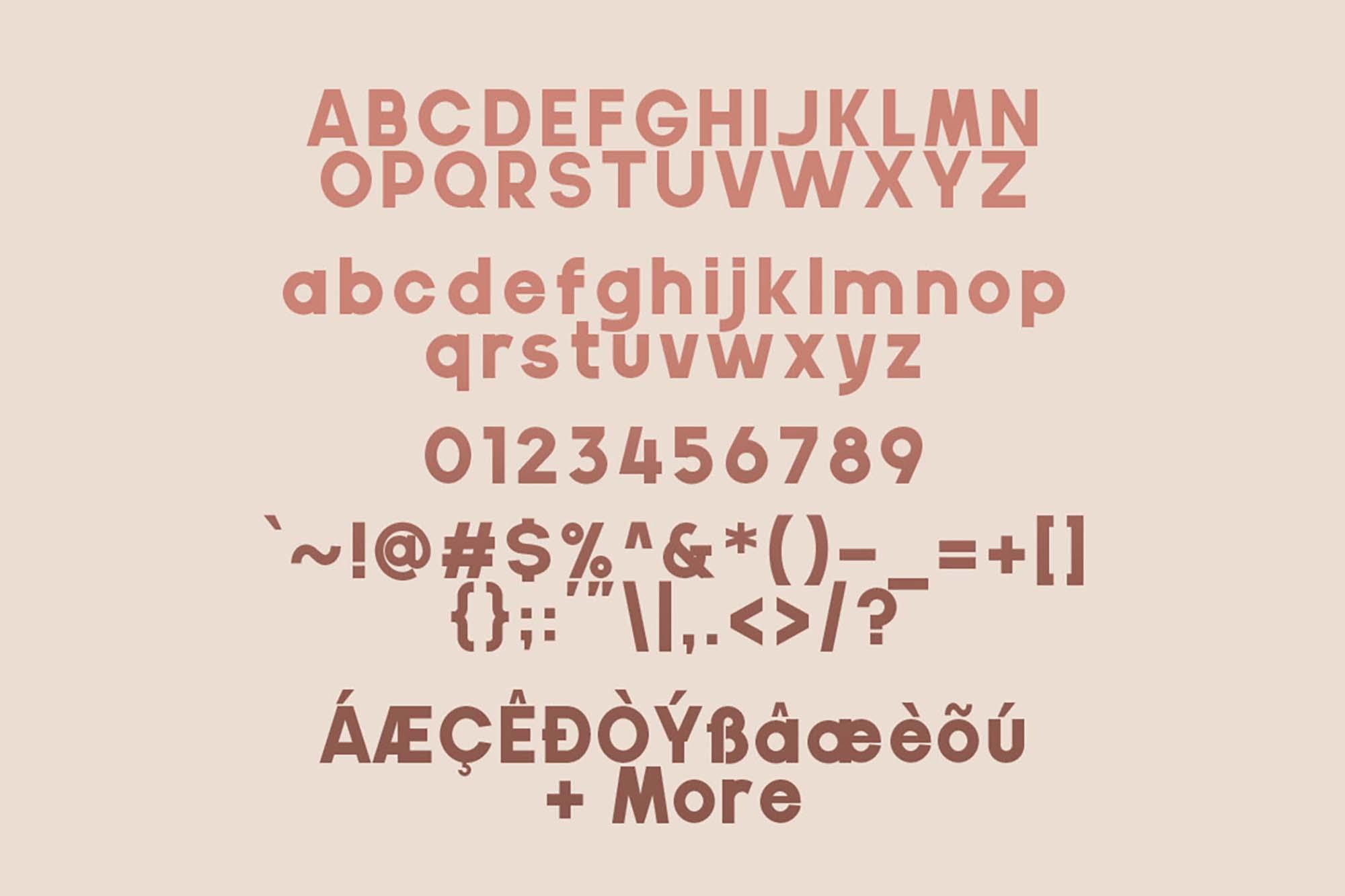 Gila Sans Serif Font 4