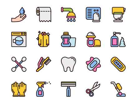 Hygiene Vector Icons