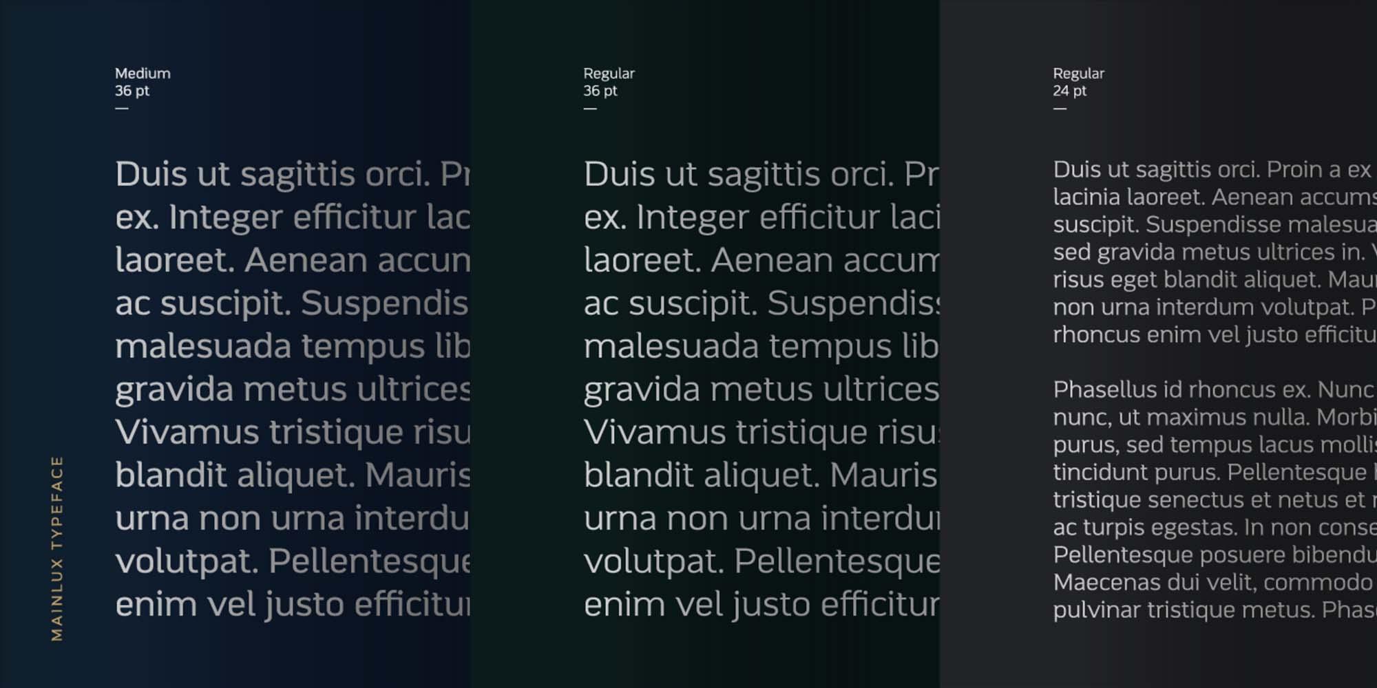 Mainlux Sans Serif Font 7