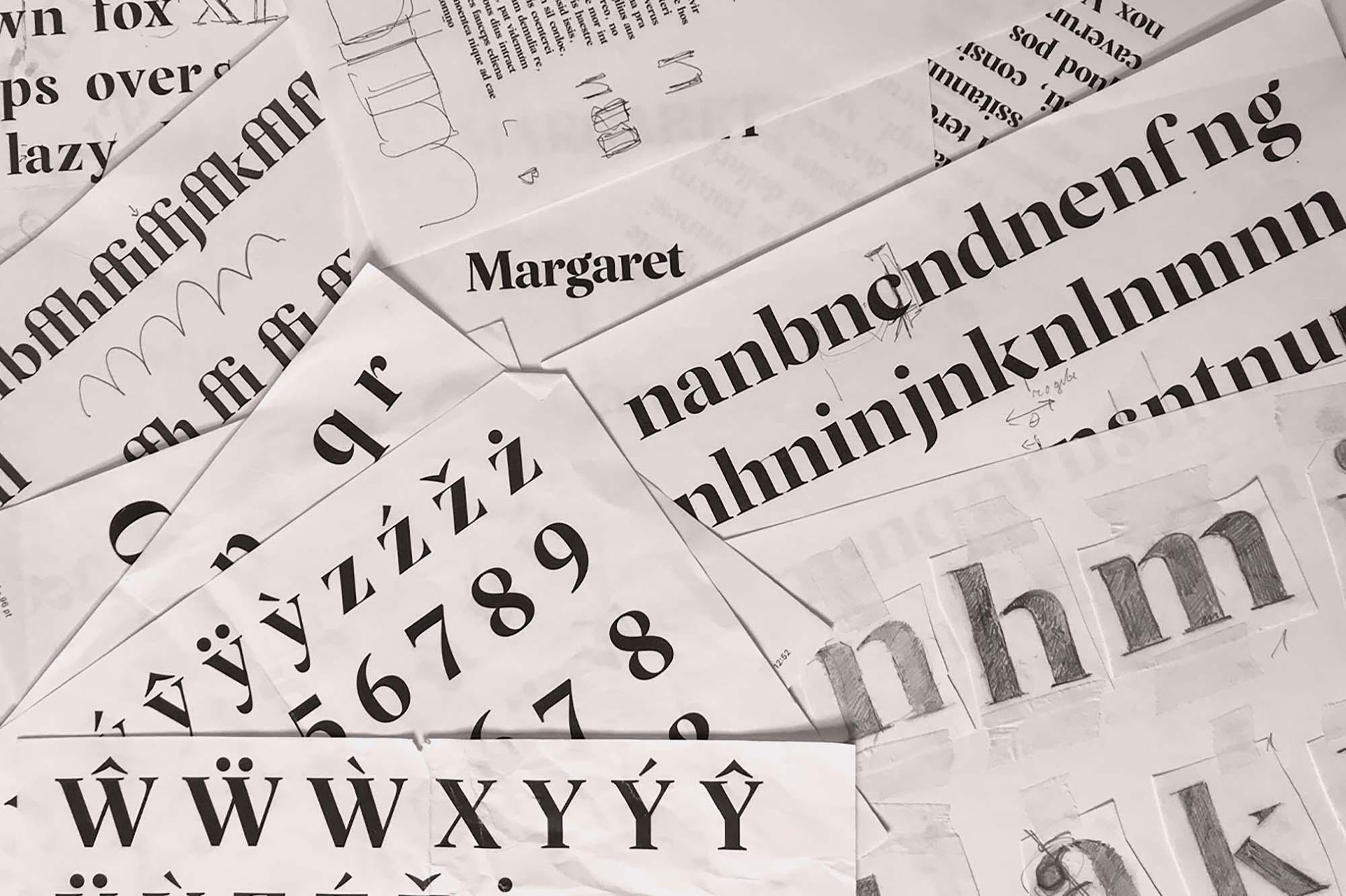Margaret Serif Font 1