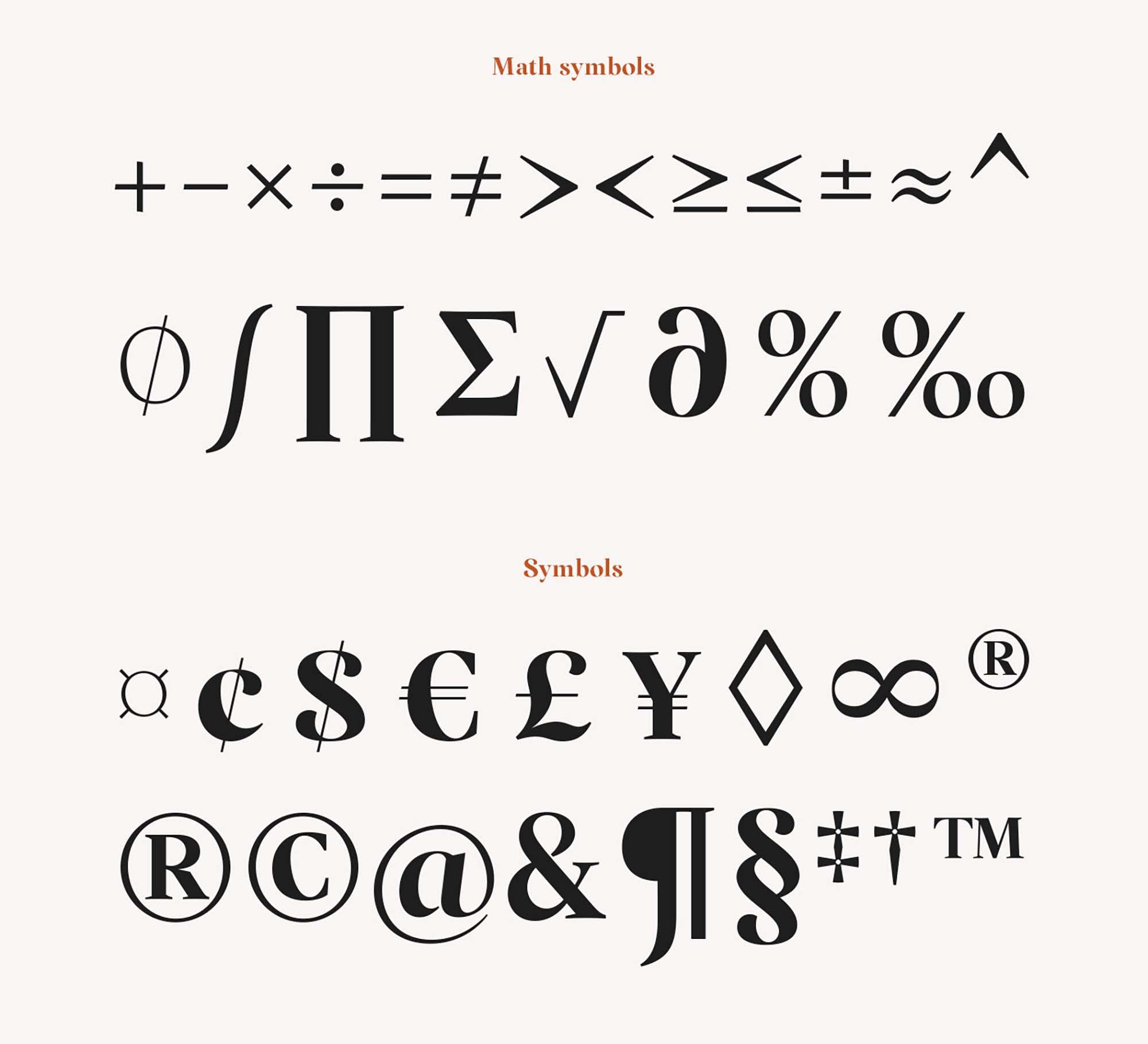 Margaret Serif Font 10