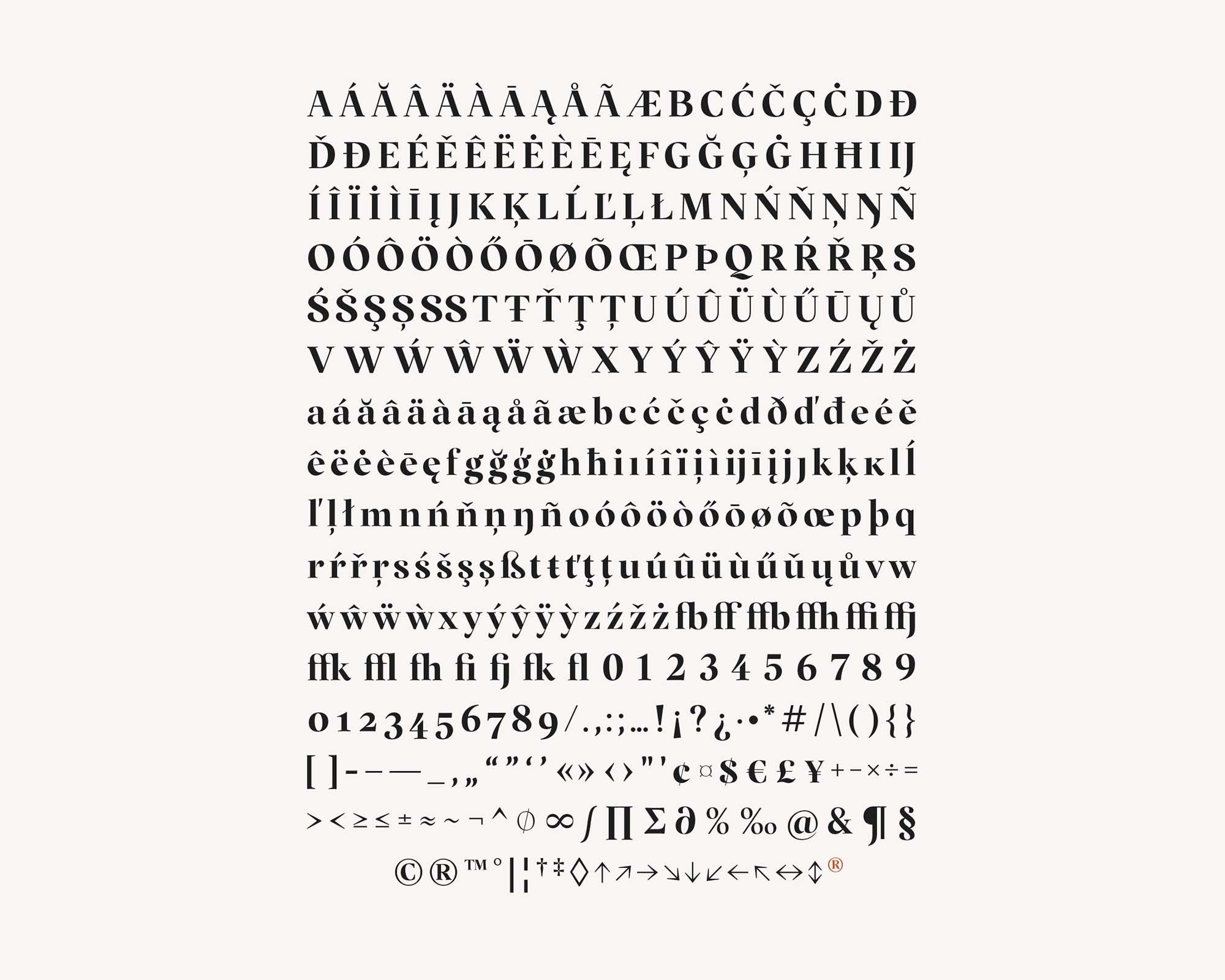 Margaret Serif Font 14