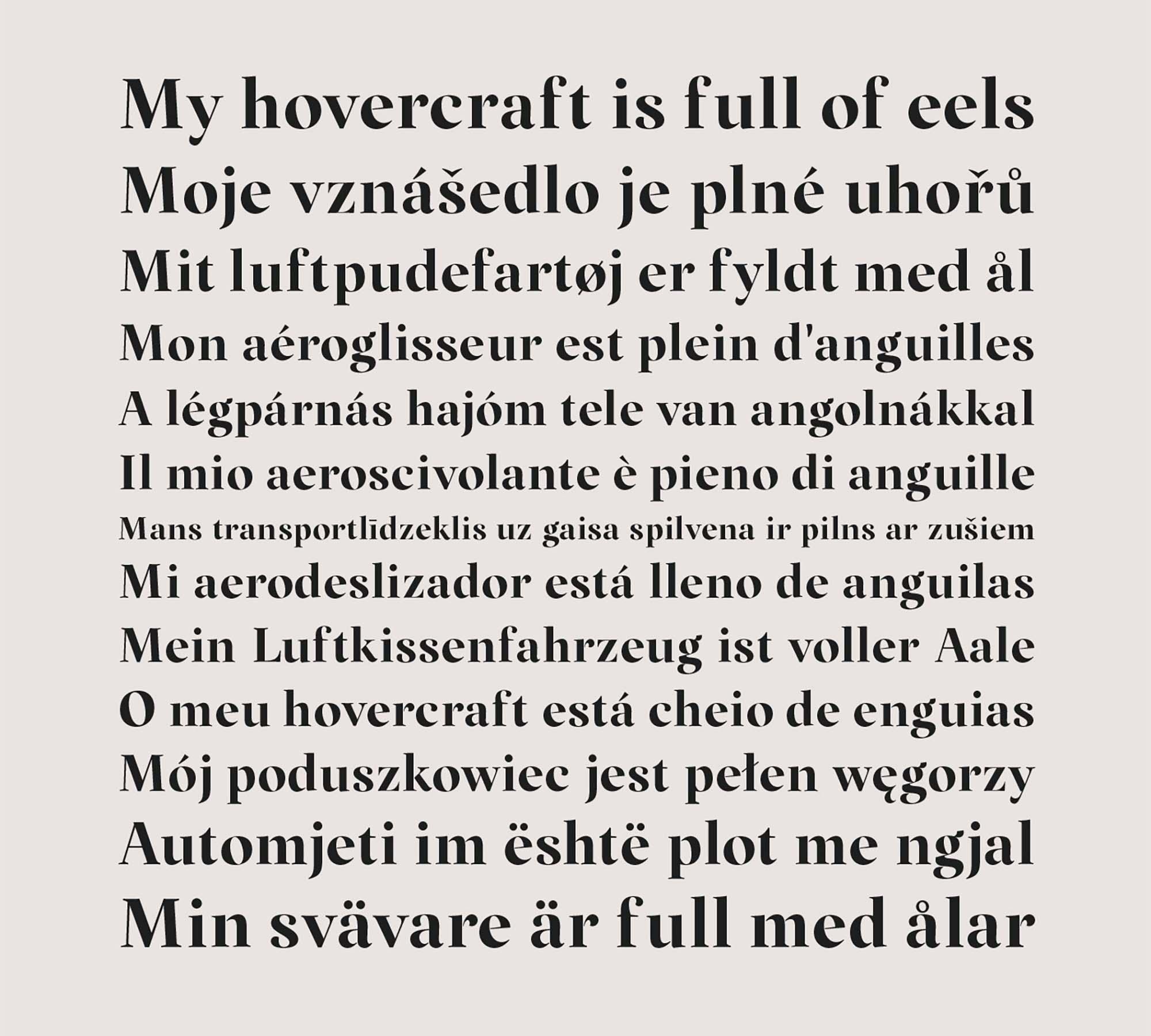 Margaret Serif Font 5