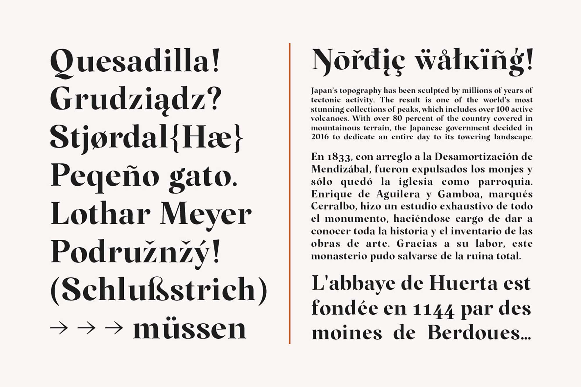 Margaret Serif Font 6