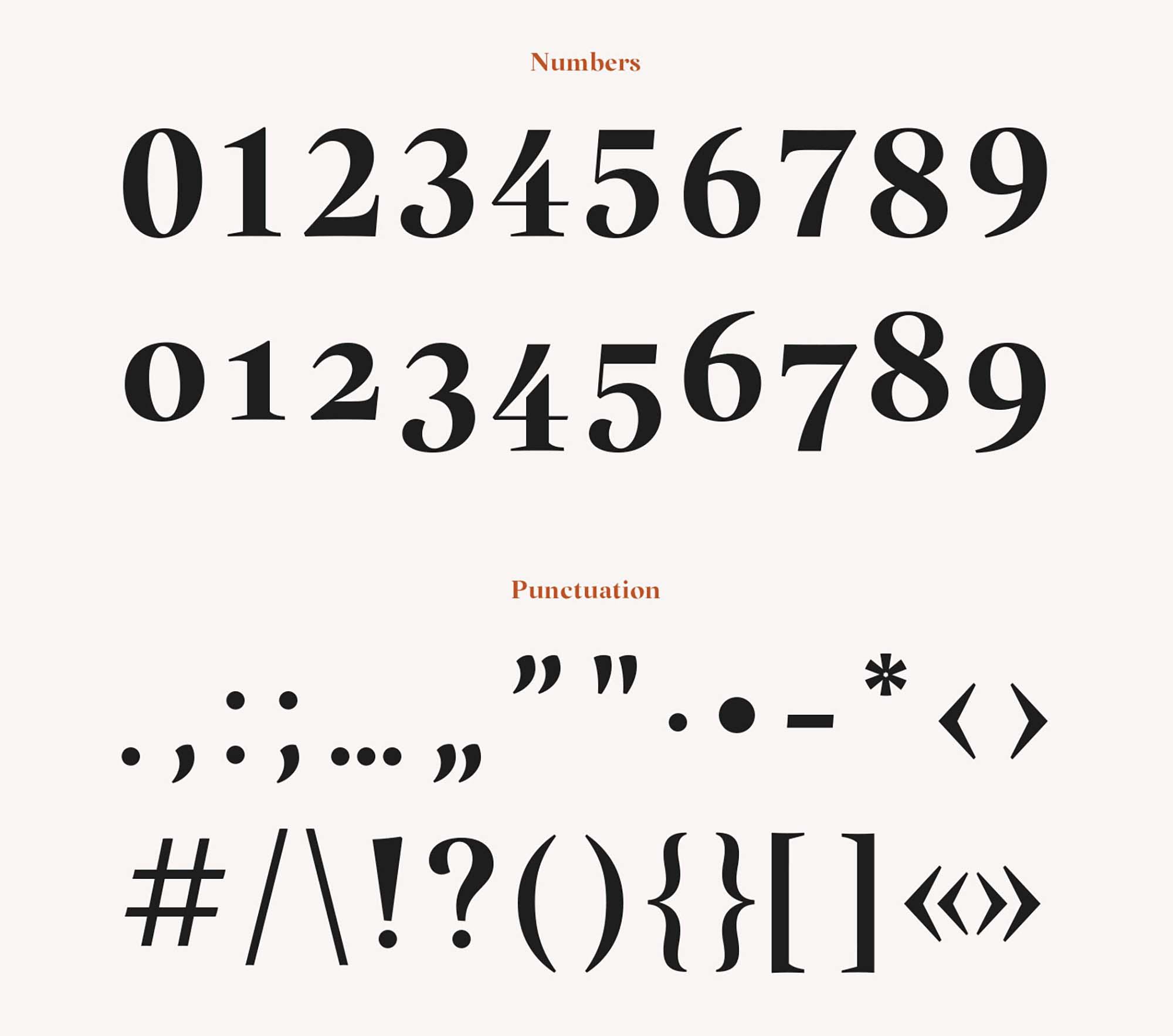 Margaret Serif Font 9