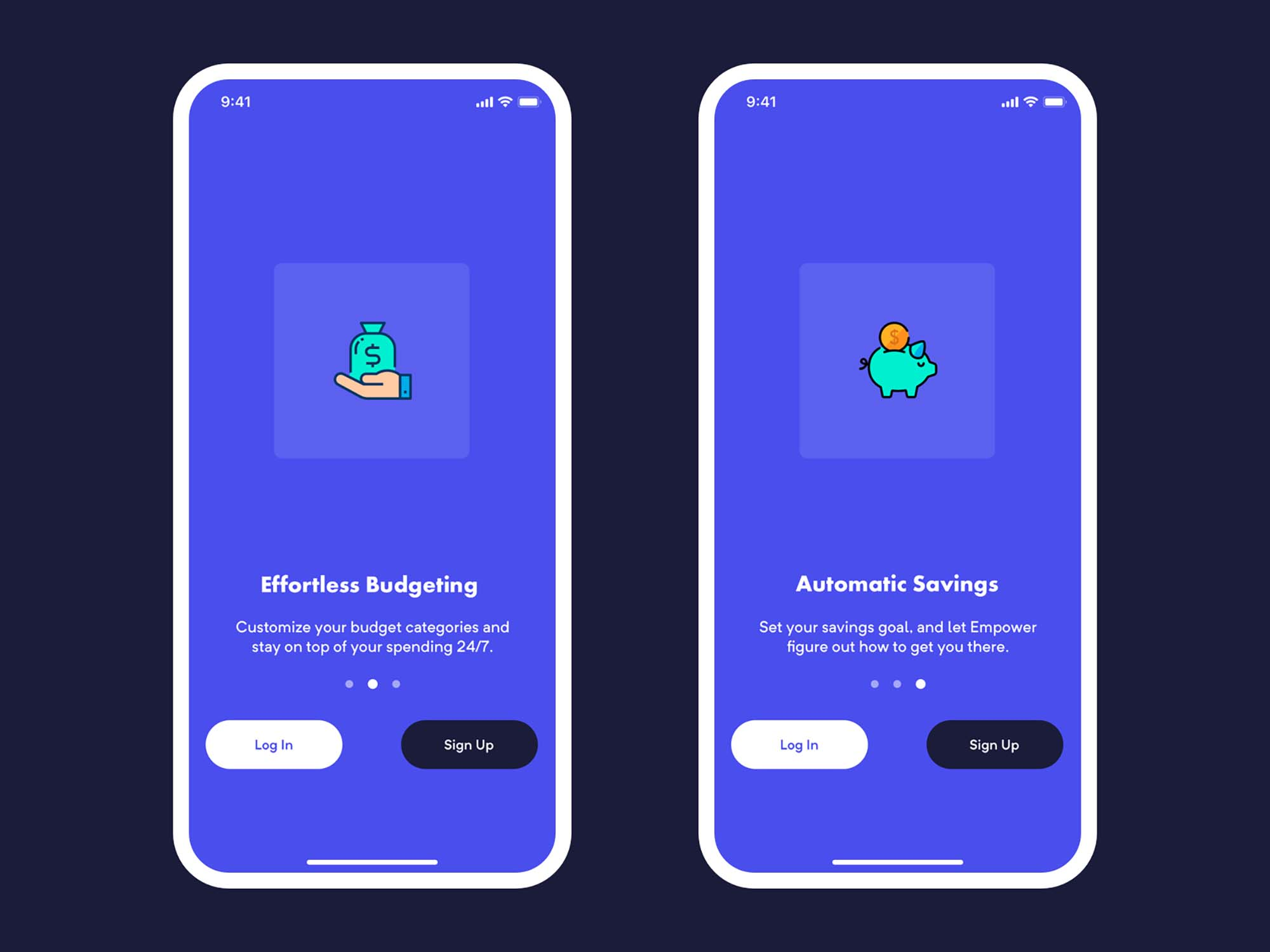 Mobile Bank Onboarding Template 2