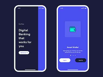 Mobile Bank Onboarding Template
