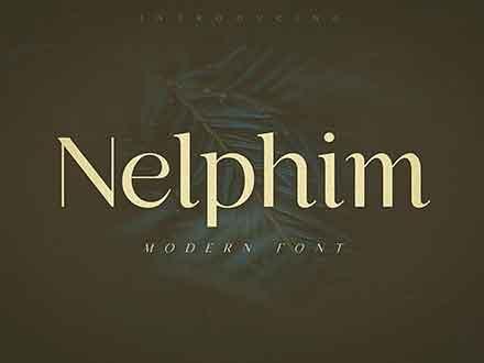 Nelphim Modern Font