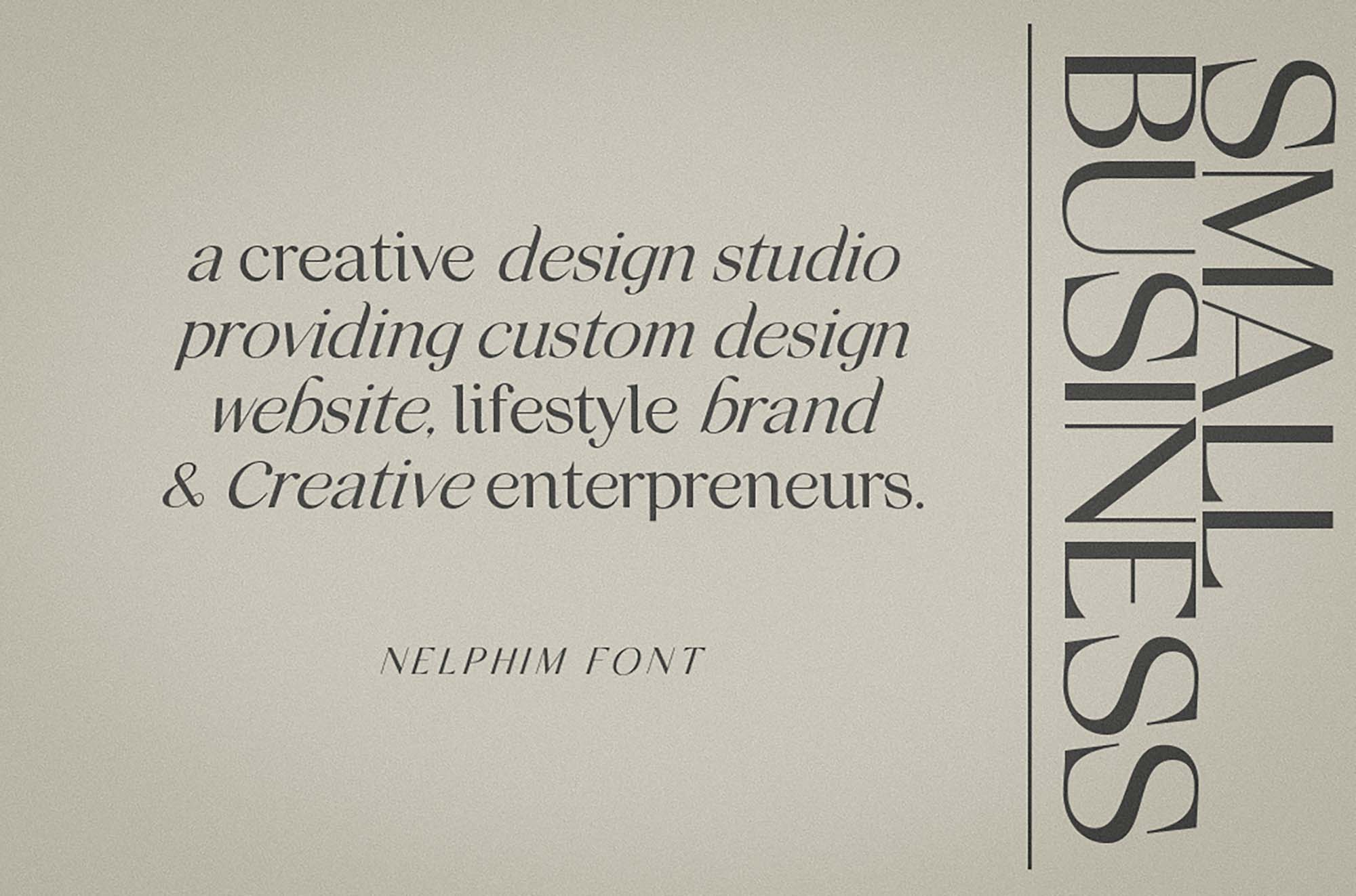 Nelphim Modern Font 8