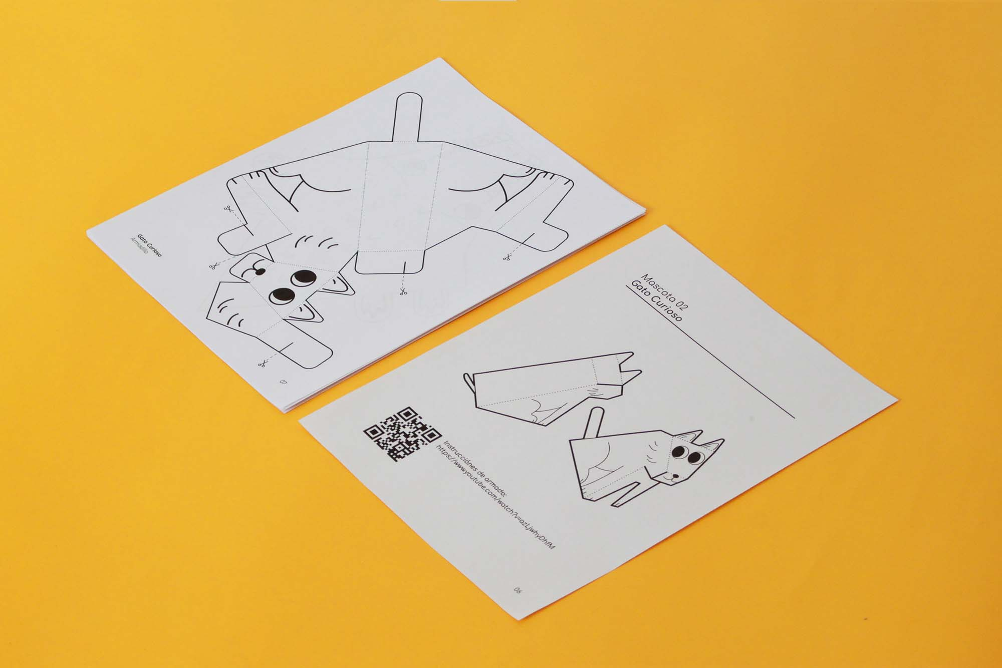 Open Source Paper Toys 1