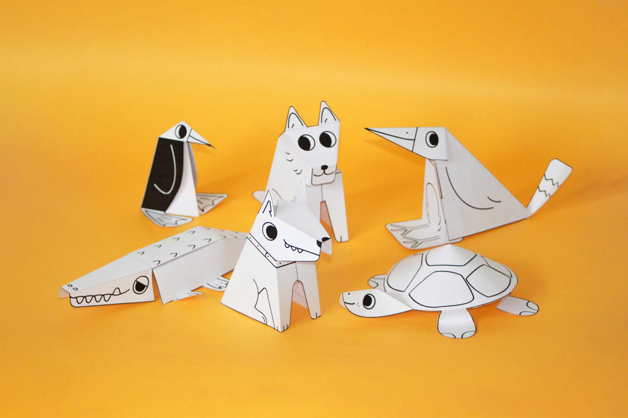 Open Source Paper Toys 2