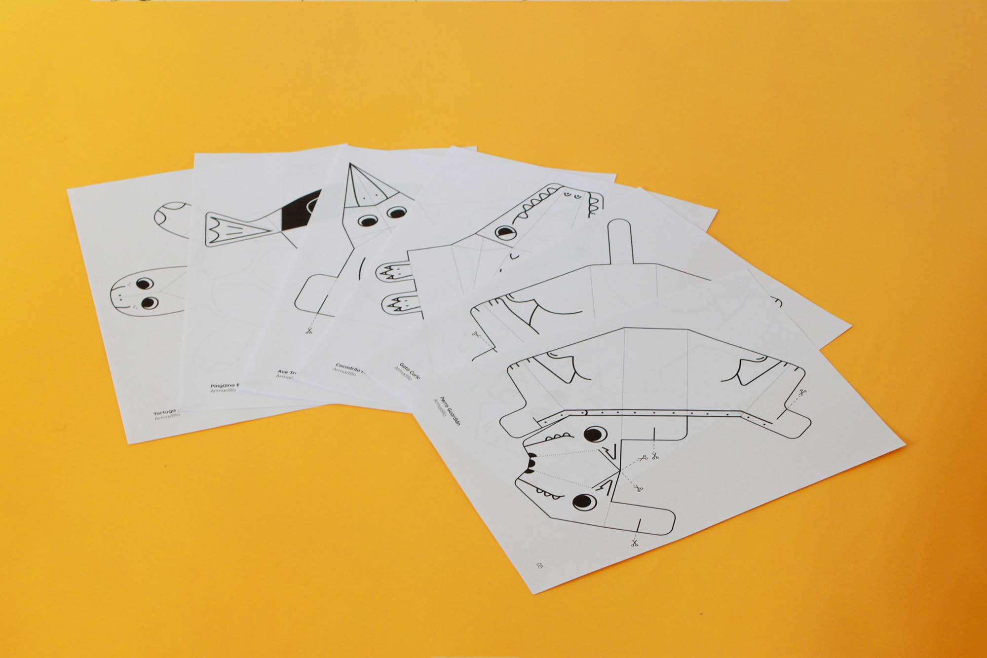 Open Source Paper Toys 5