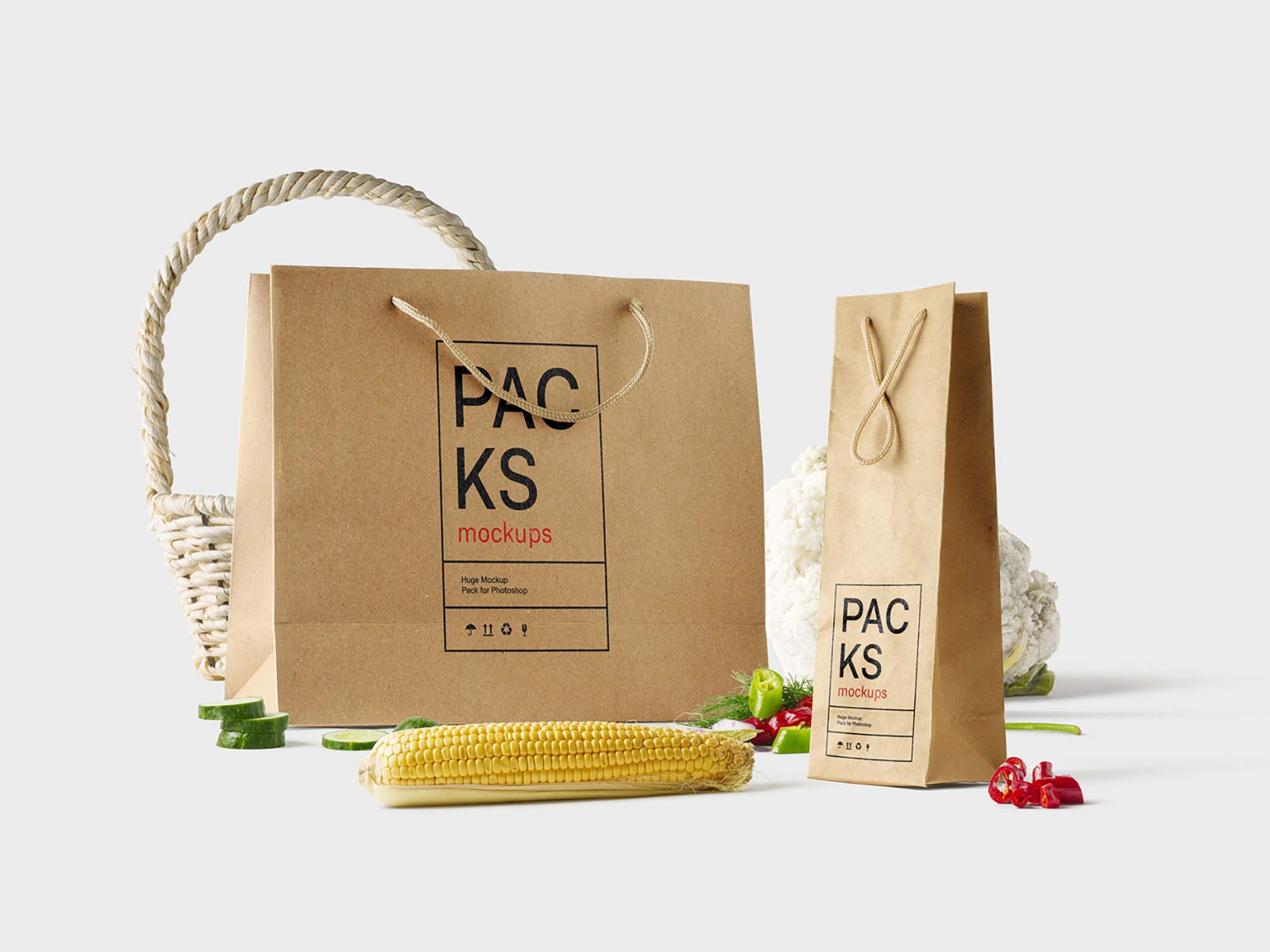 Packaging Scene Mockup