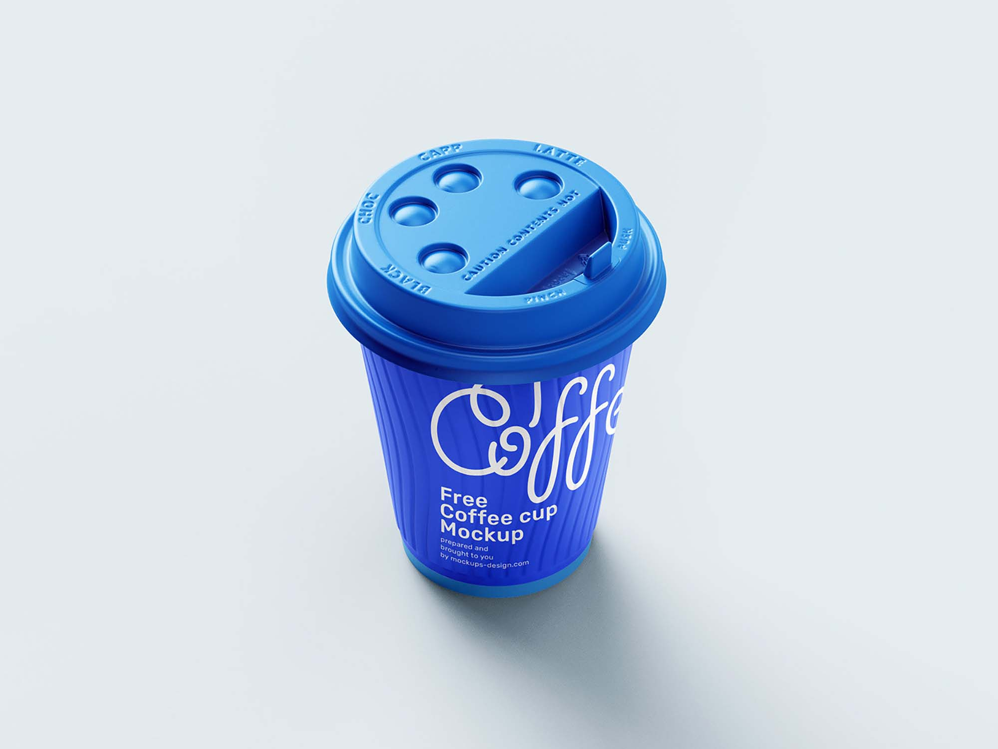 Paper Coffee Cup Mockup 1