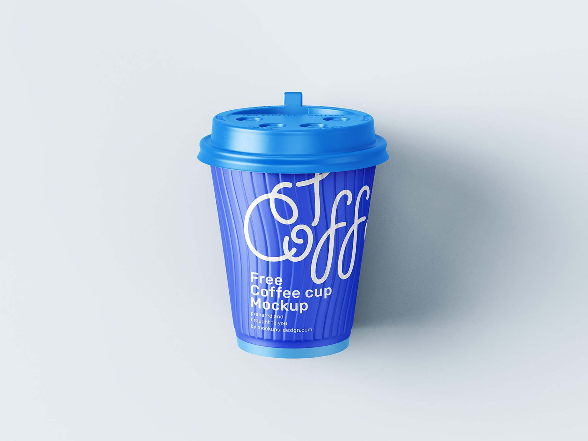 Paper Coffee Cup Mockup 3