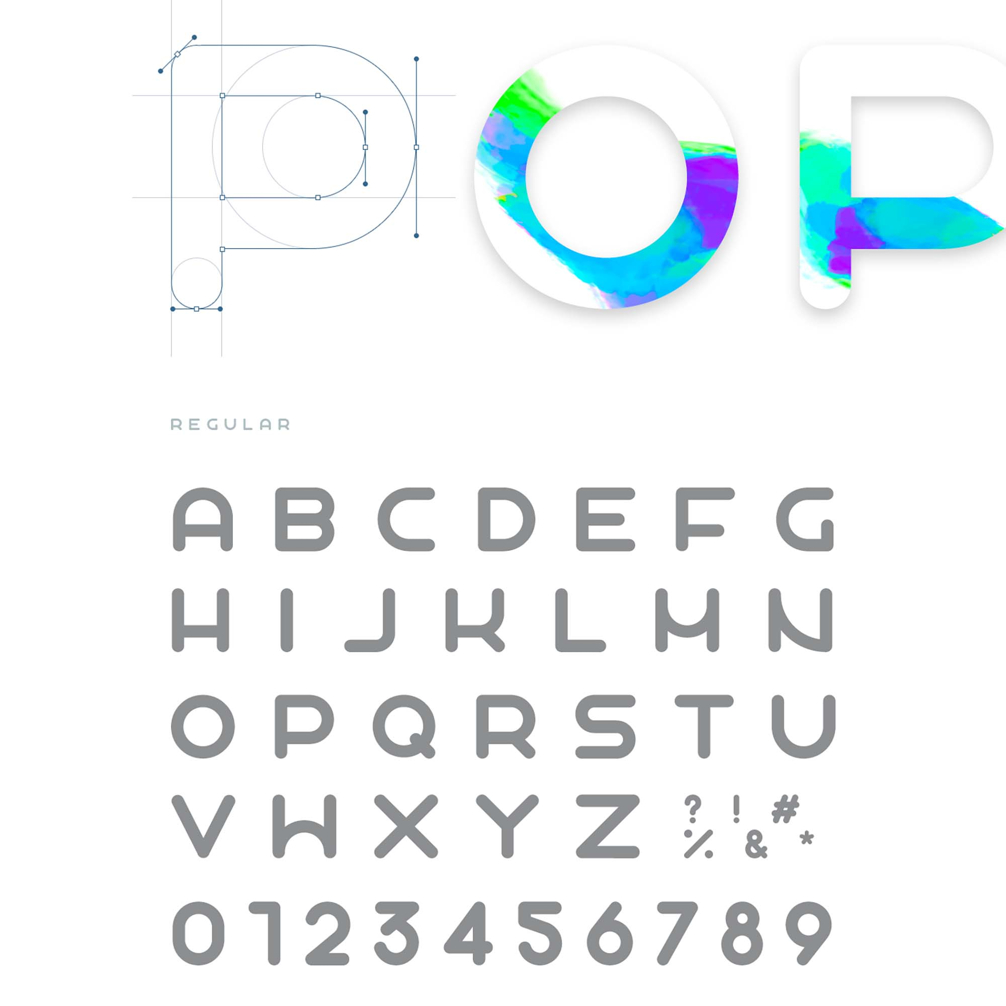 Popo Sans Serif Font 1