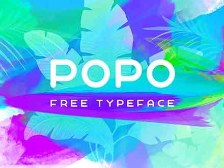 Popo Sans Serif Font