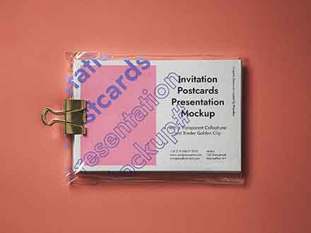 Postcard Mockup Presentation