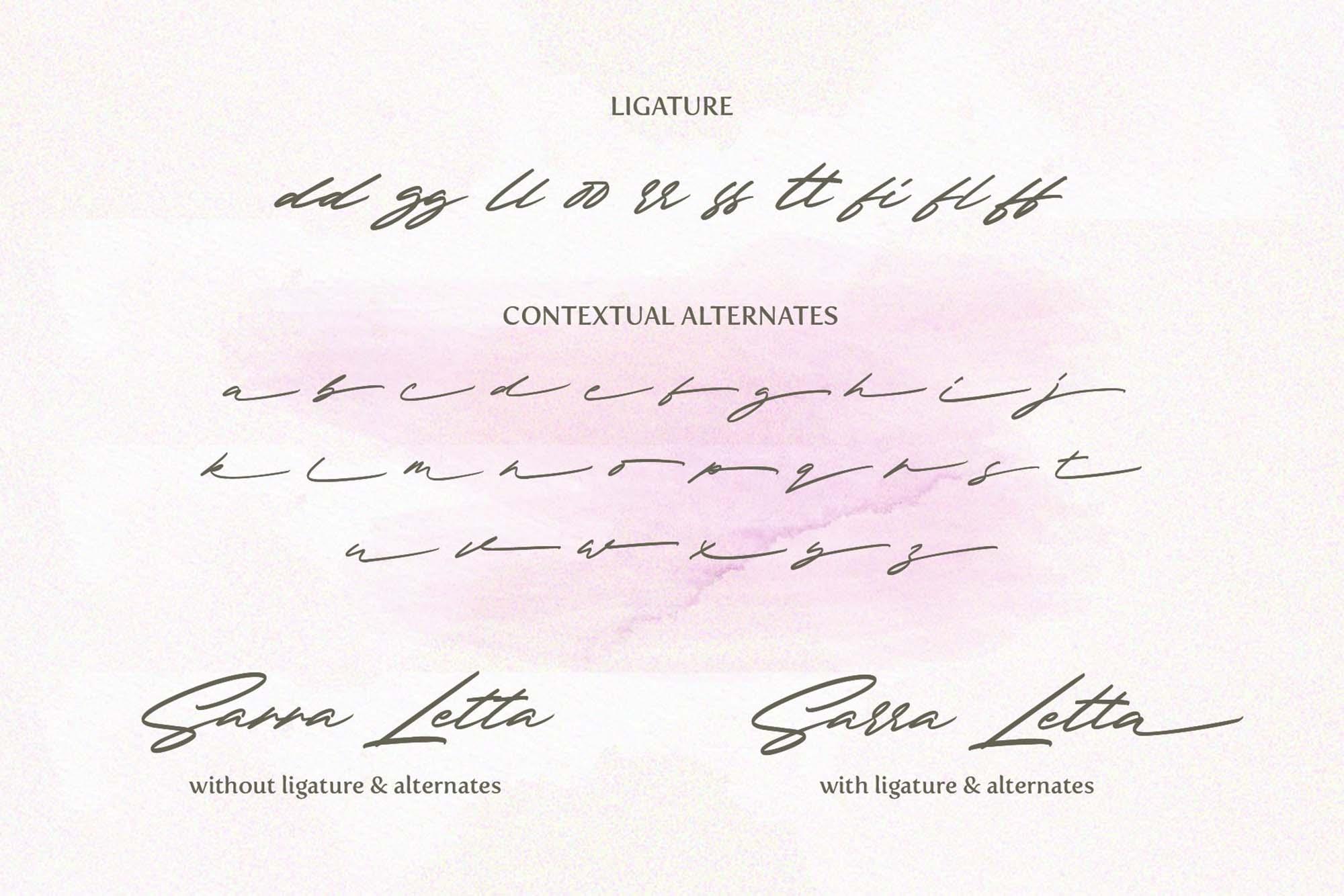 Redsky Signature Font 5