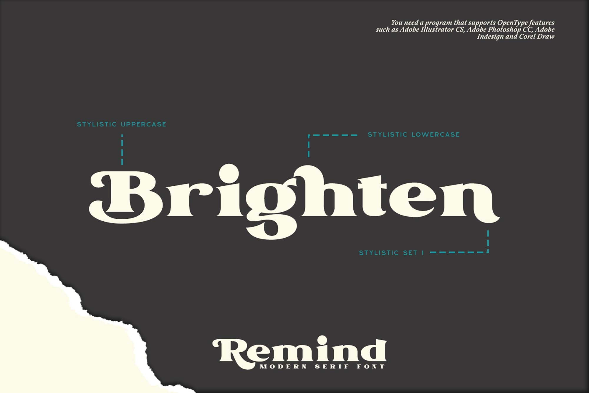 Remind Serif Font 4