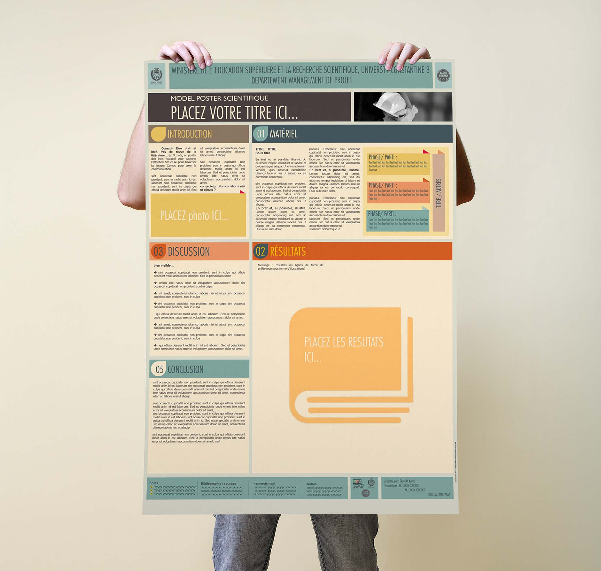 Scientific Poster Powerpoint Templates