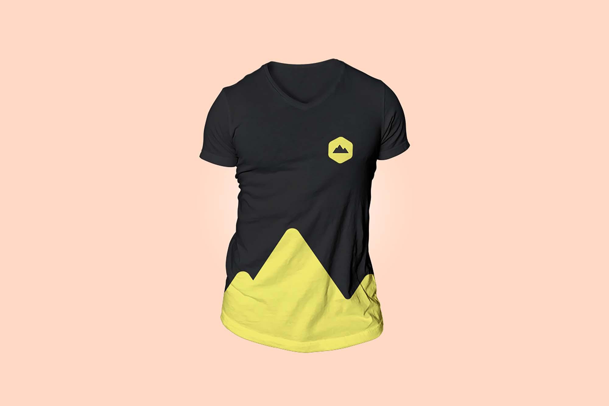 Simple T-Shirt Mockup 2