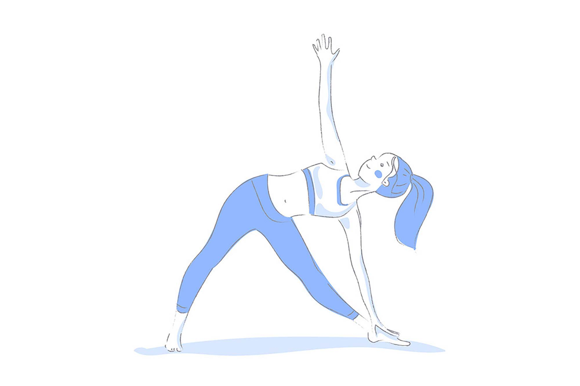 Yoga Poses Illustrations 1