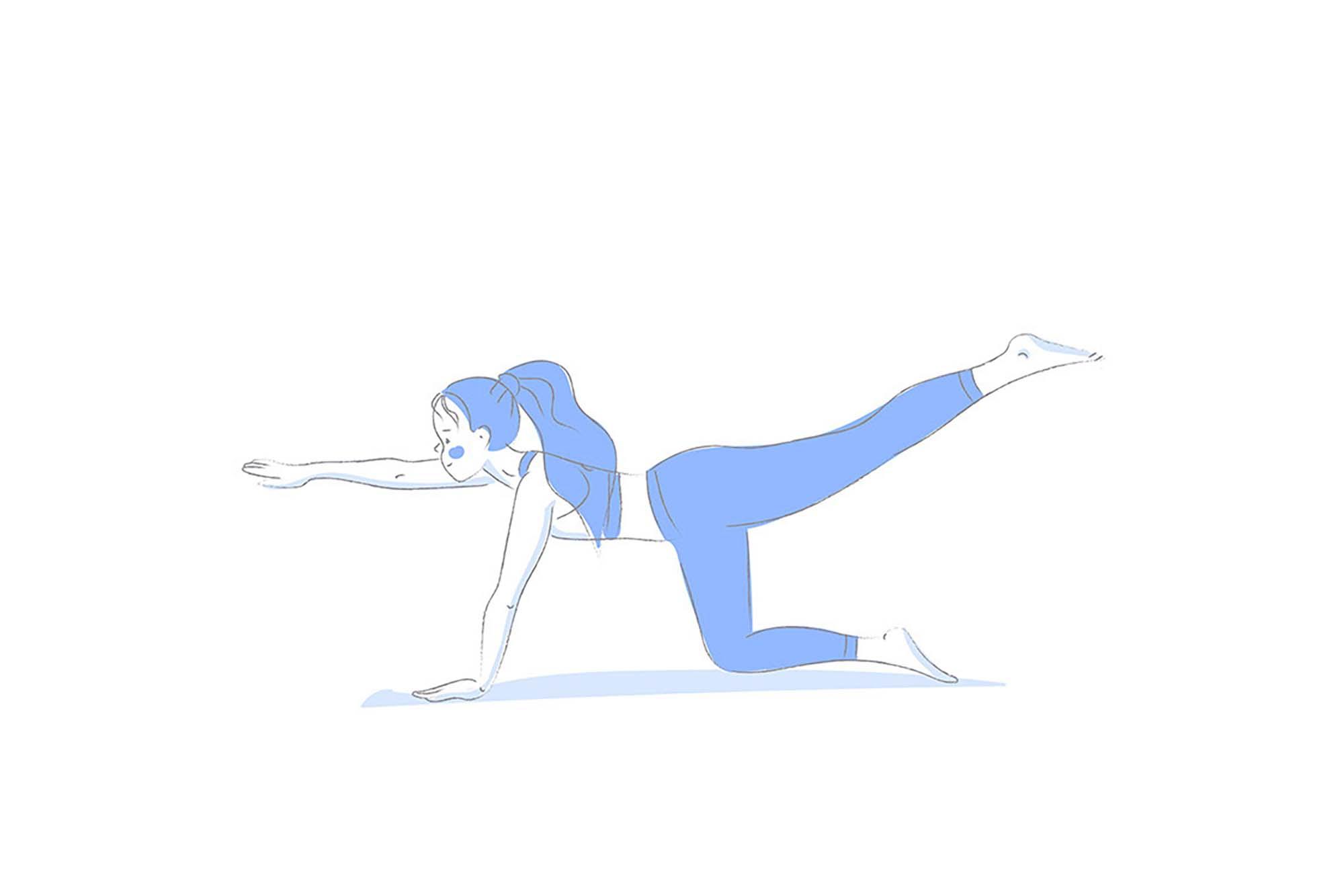Yoga Poses Illustrations 3