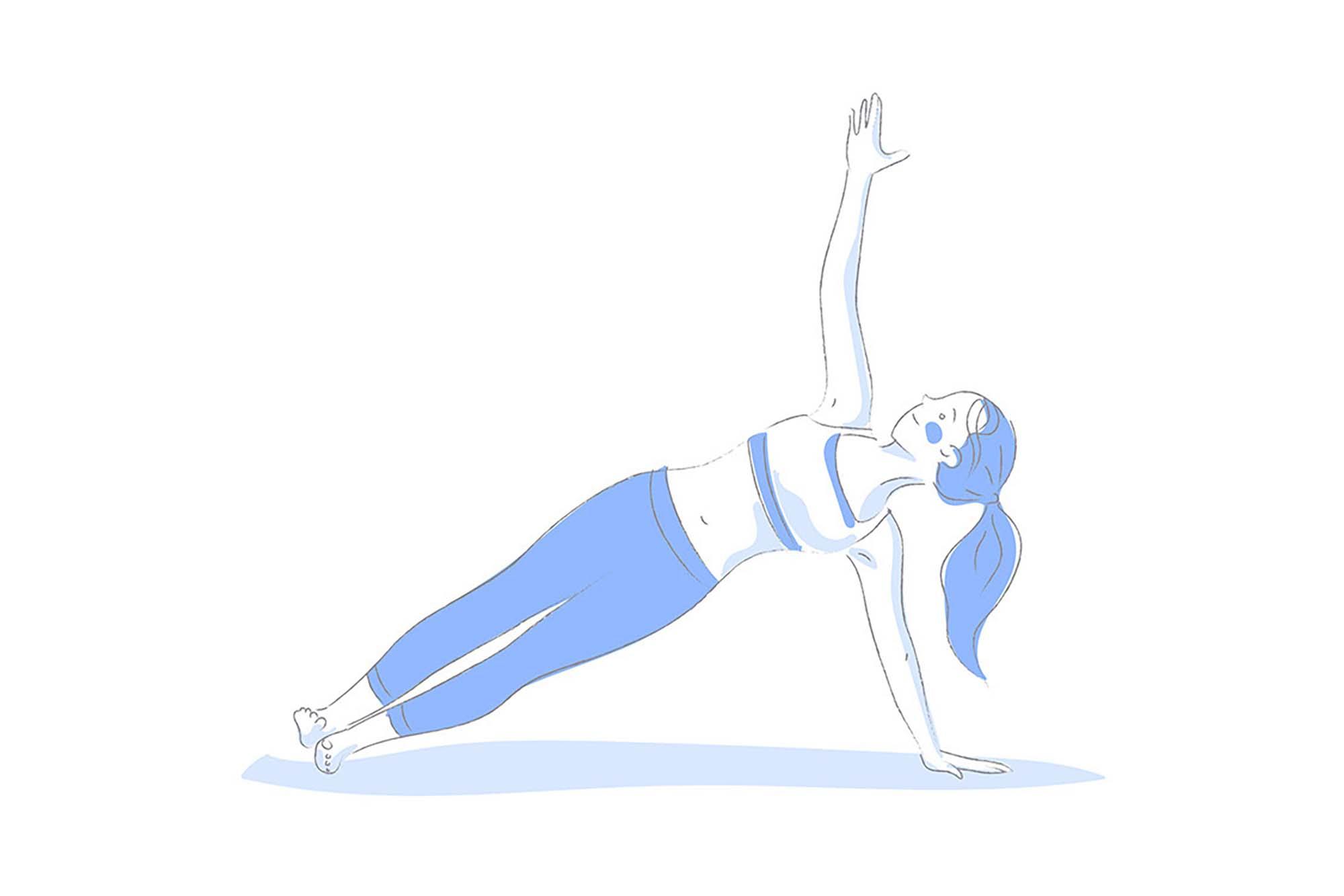 Yoga Poses Illustrations 4