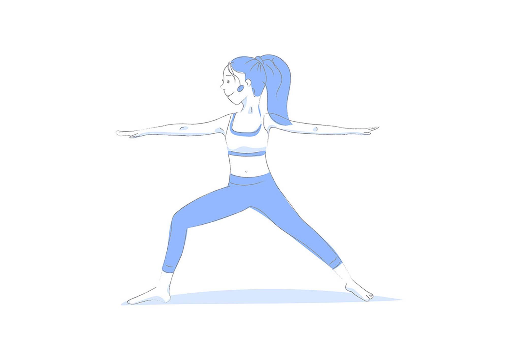 Yoga Poses Illustrations 5