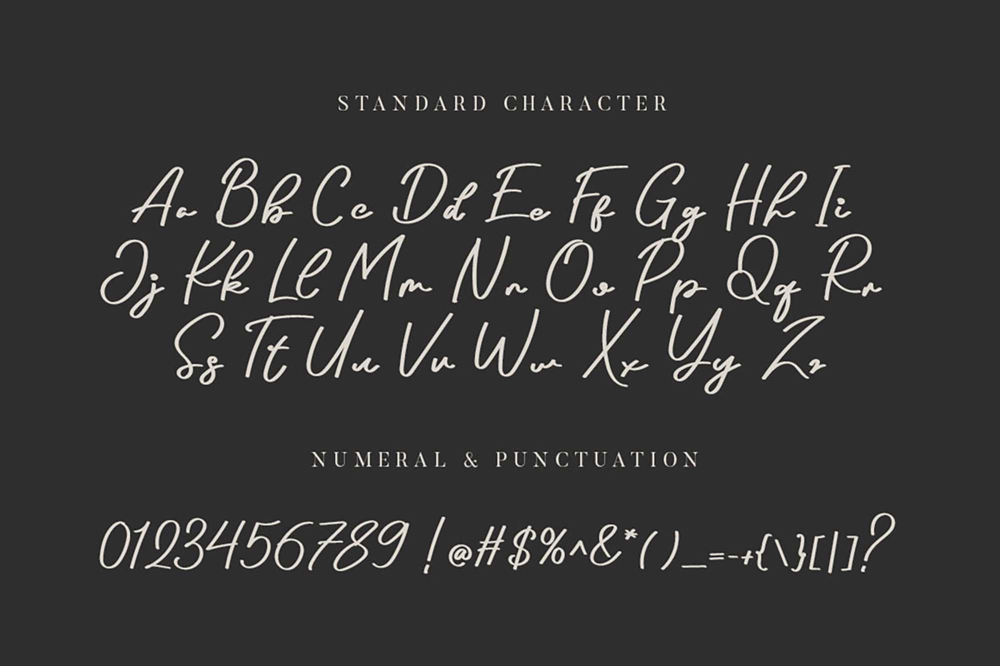 Arthens Luxury Font 3