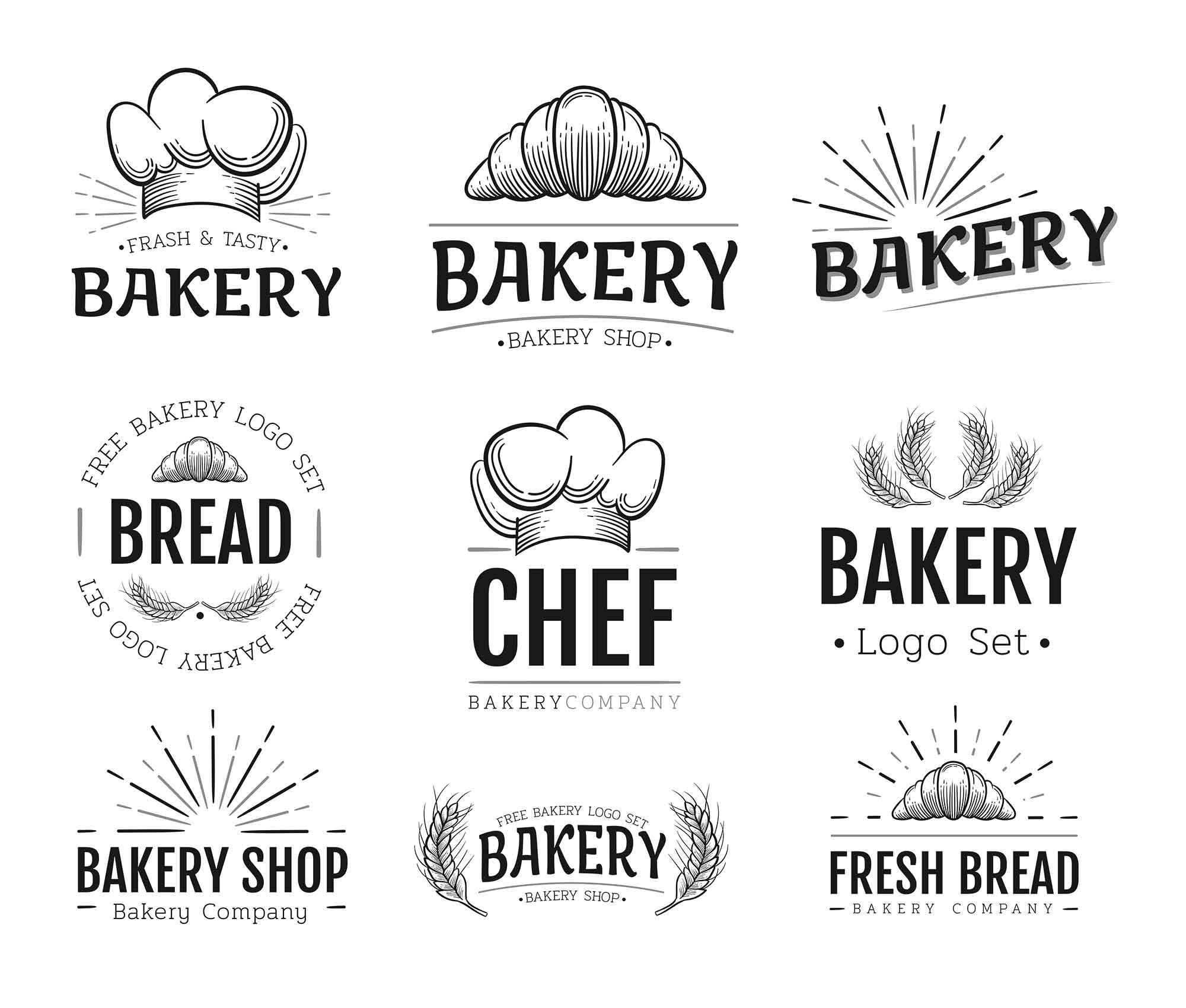 Bakery Logo Templates 2
