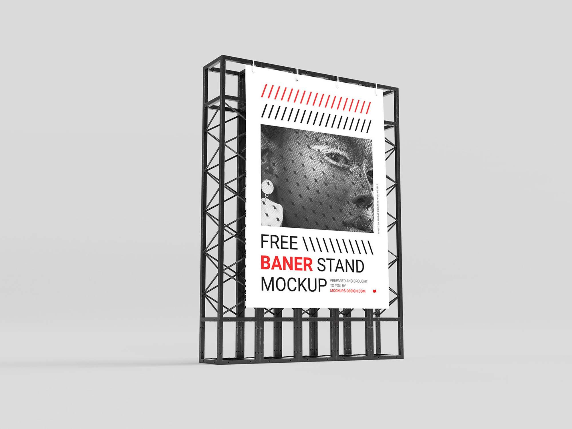 Banner Stand Mockup 2