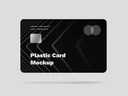 Editable Credit Card Mockup