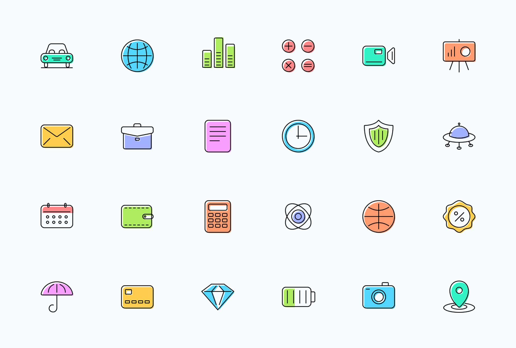 Essential Shift Icons