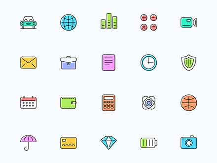 Essential Shift Icons