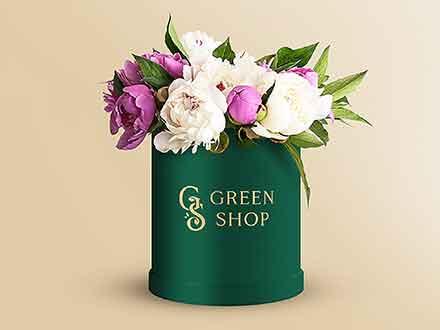 Flower Pot Mockup