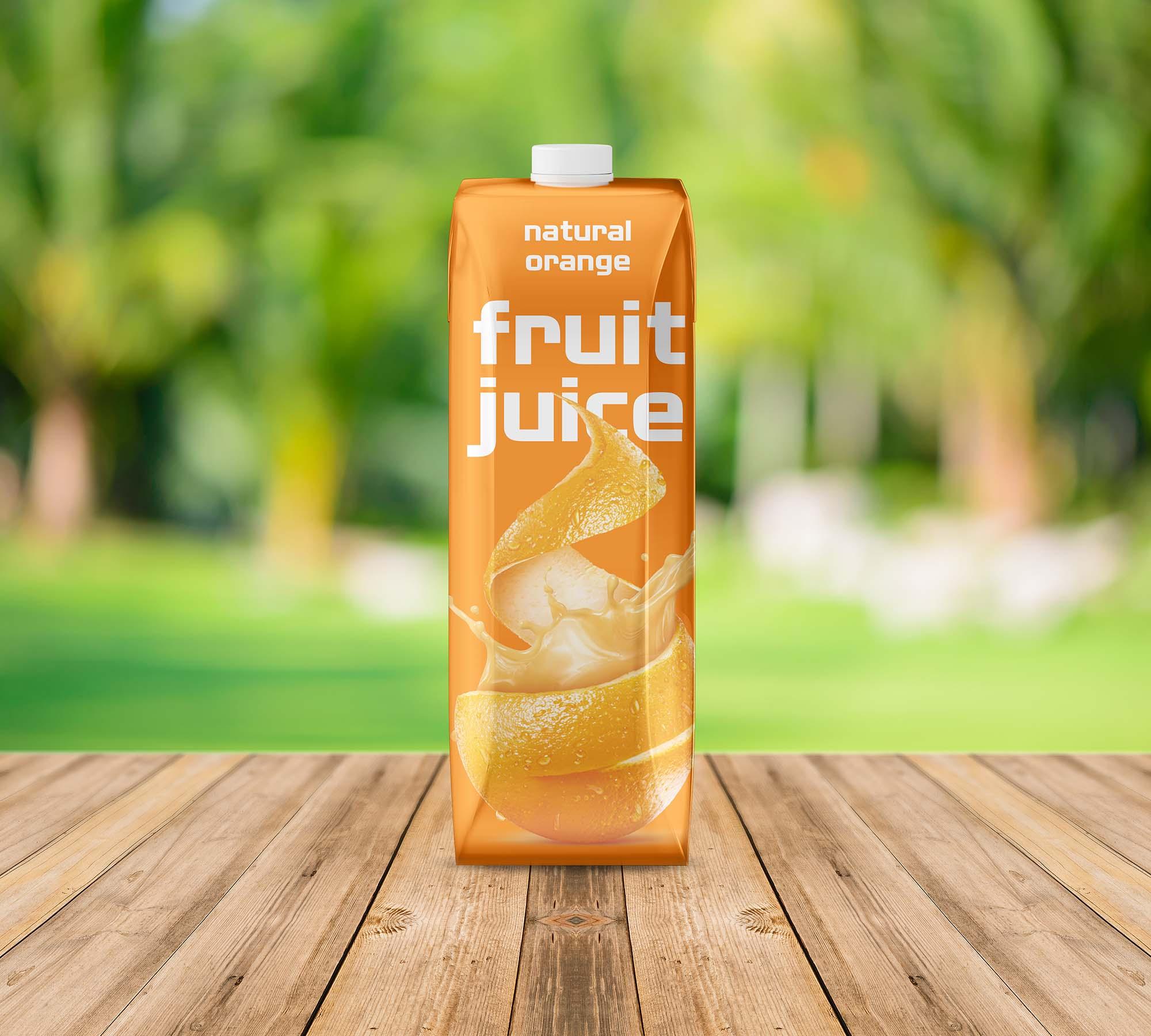 Fruit Juice Mockup