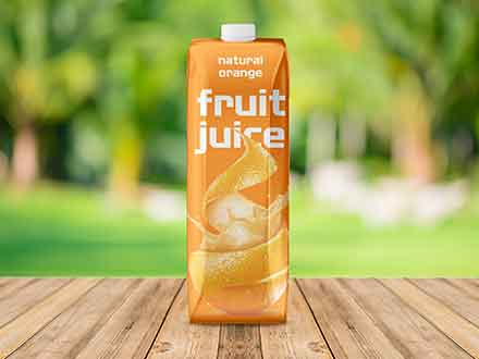 Fruit Juice Mockup