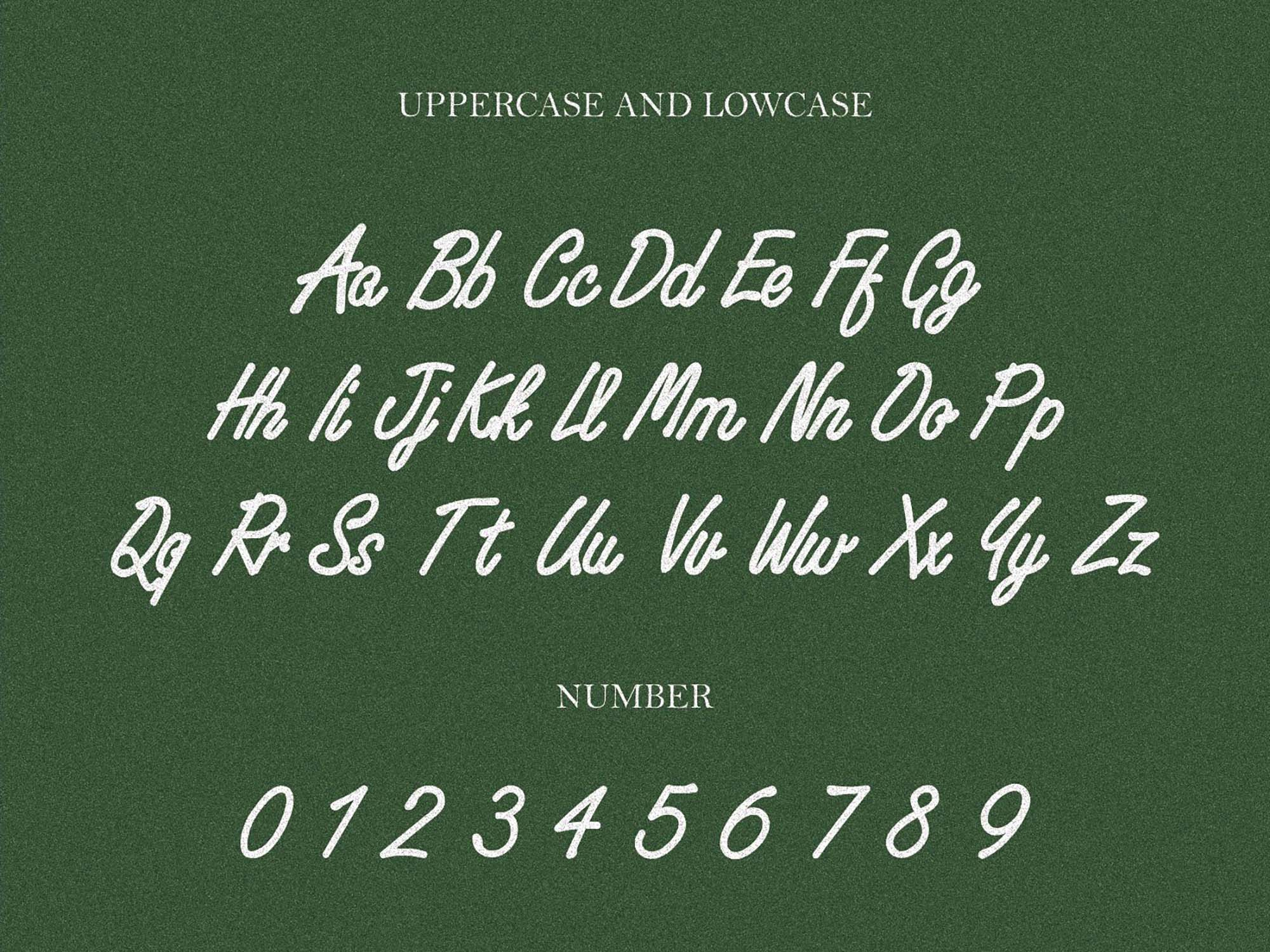 Huf Script Font 2