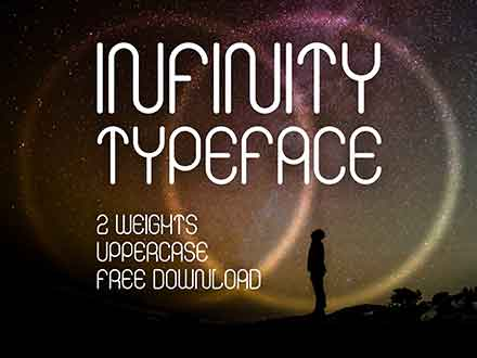 Infinity Display Font