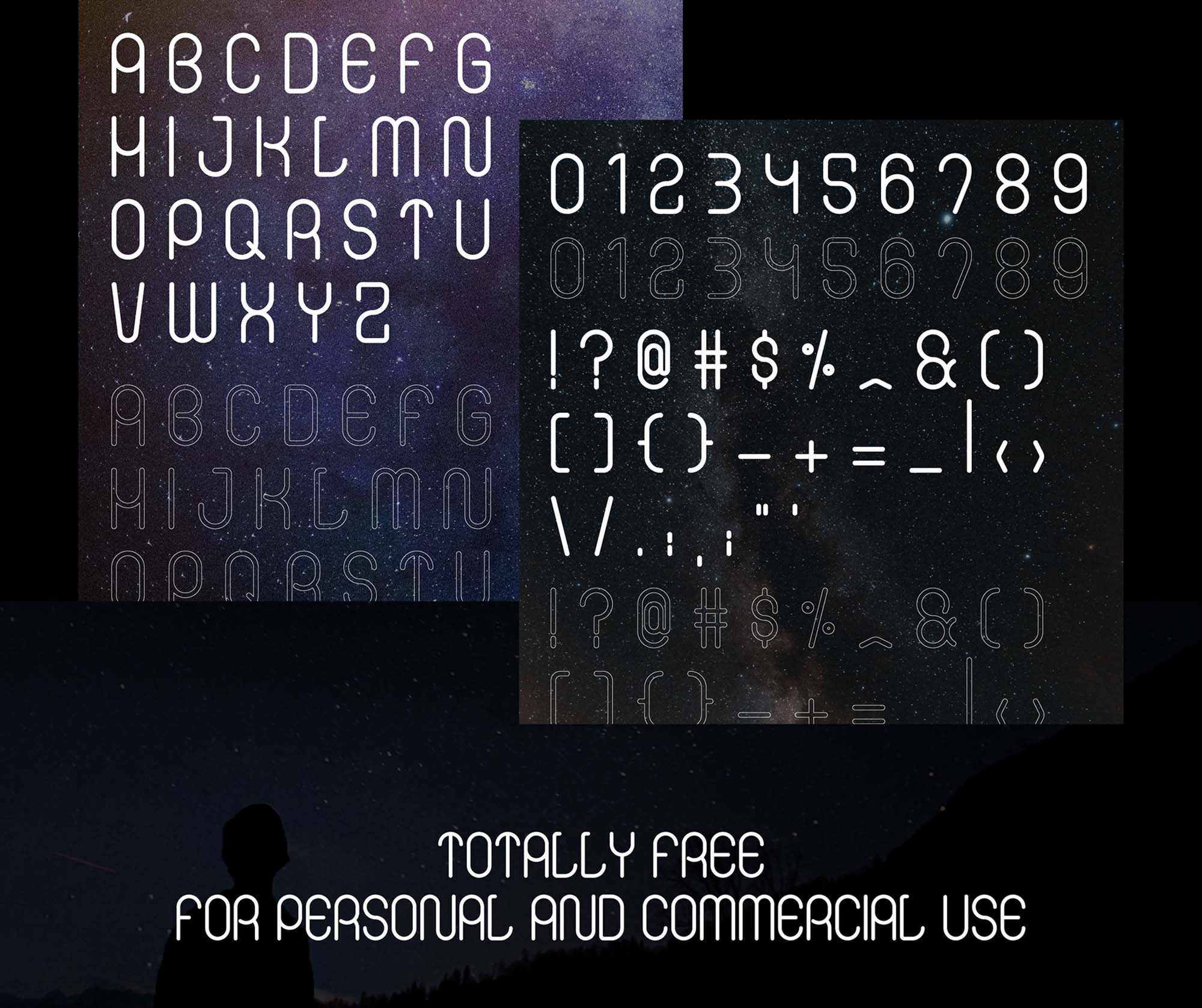 Infinity Display Font 3