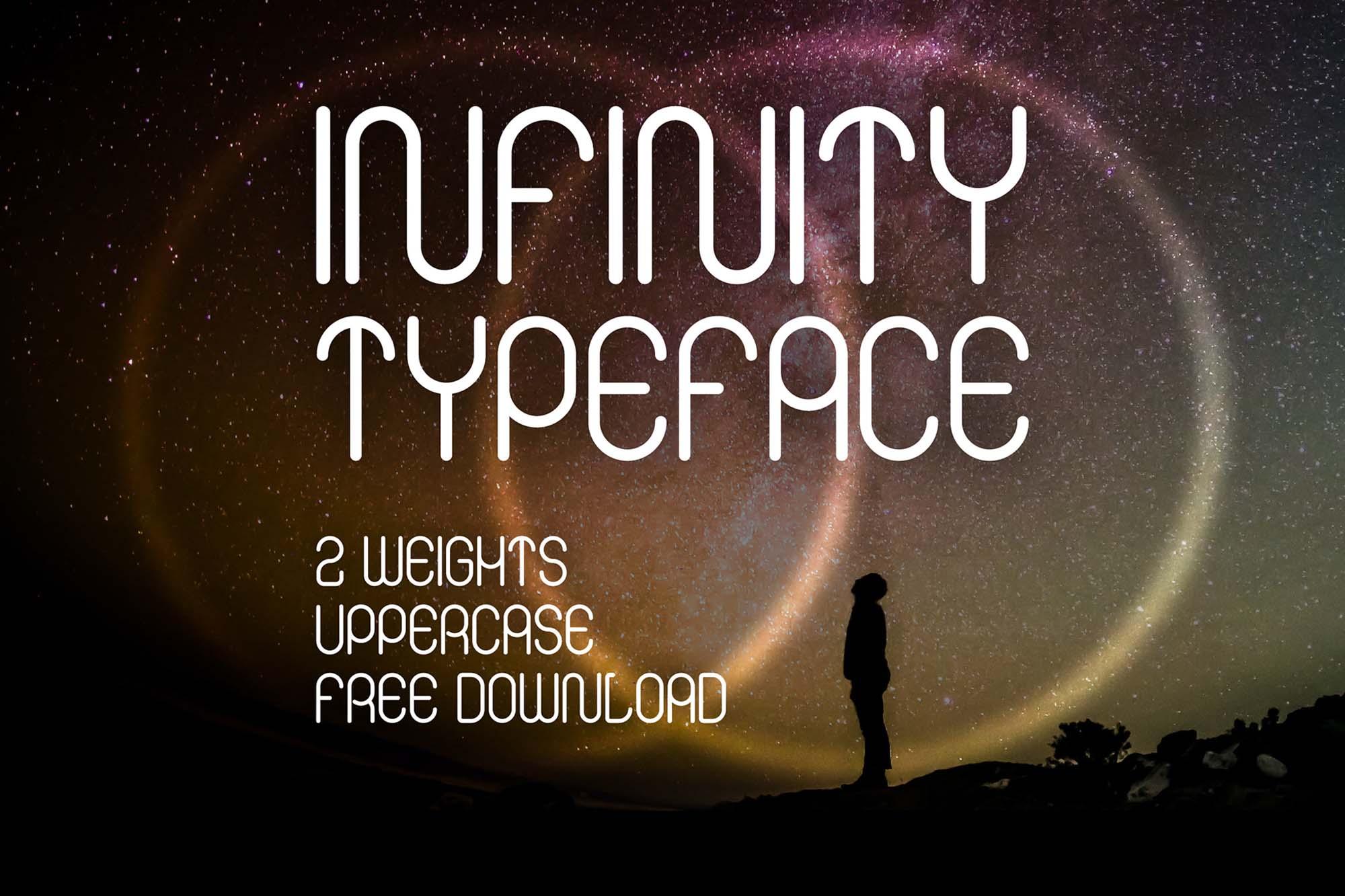 Infinity Display Font